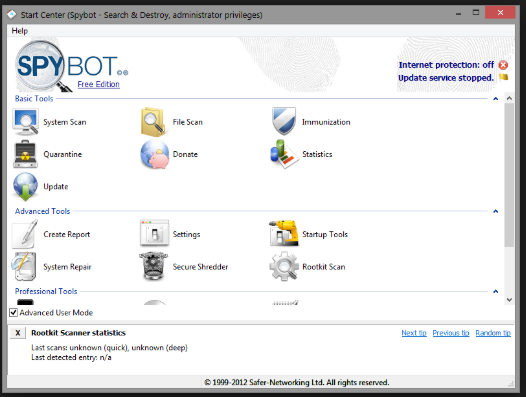 Download Spybot Search and Destroy2.6 Free 2019 Latest Version