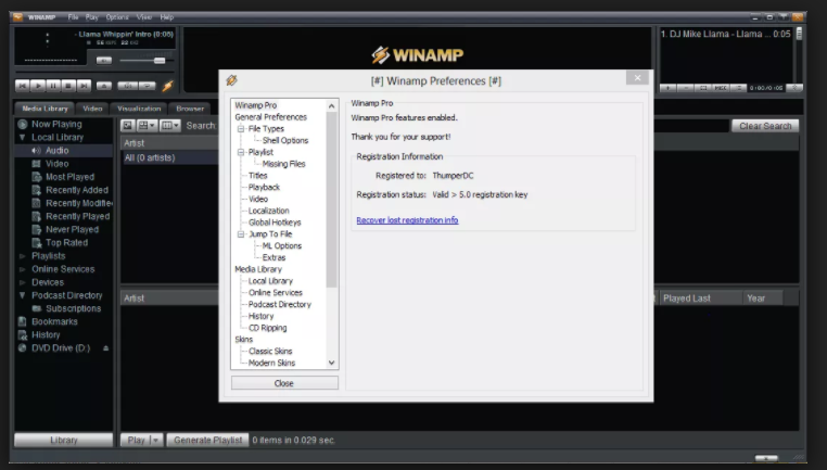 Download Winamp 5.666 Full B 3516 Free 2018 Latest Version