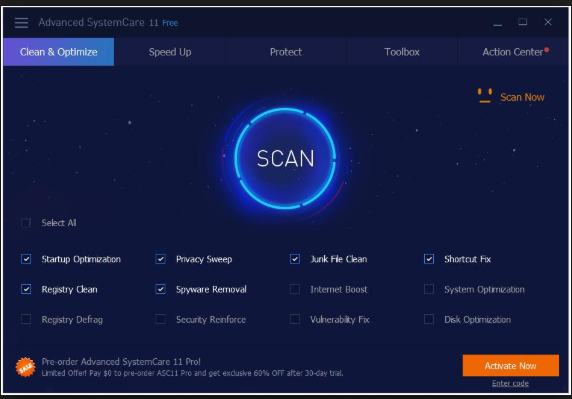 Download Advanced SystemCare 11.1.0.196 Free 2019 Latest Version
